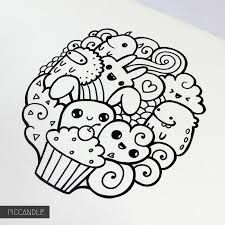 Resultado De Imagen Doodle Art Characters Easy Pencil Drawings Doodles Kawaii