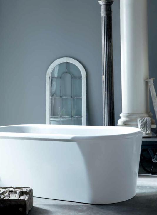 Colette Freestanding Oval Composite Bathtub | Waterworks | Pinterest ...