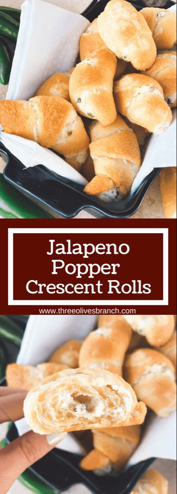 Photo of Jalapeno Popper Crescent Rolls – Three Olives Branch