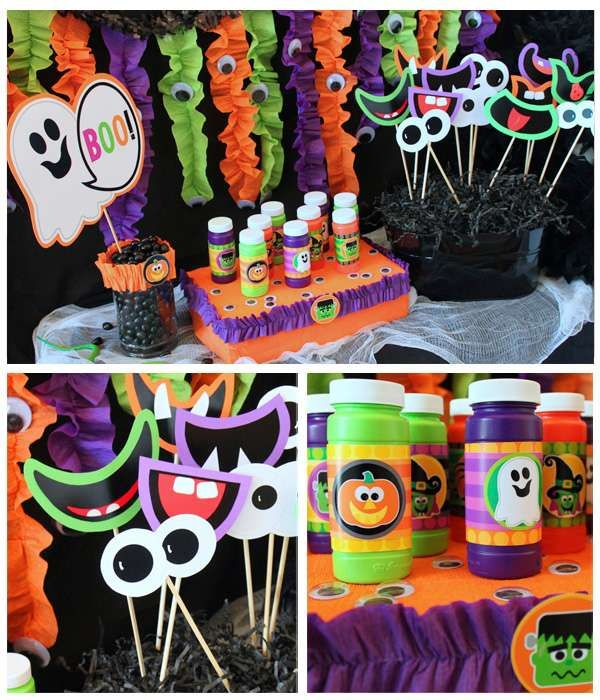 Halloween Party For Kids Halloween Party Ideas Photo 19 Of 30 Birthday Halloween Party Halloween Party Kids Halloween Party