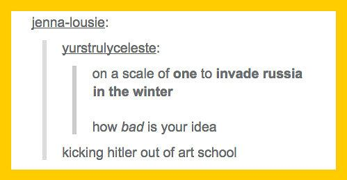 Photo of 26 Times History Was Perfectly Summed Up By Tumblr