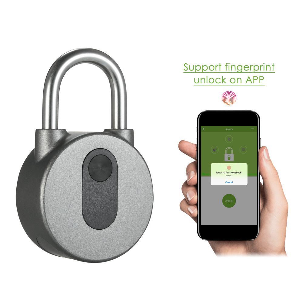 BT Smart Lock Waterproof APP Button / Fingerprint / Password