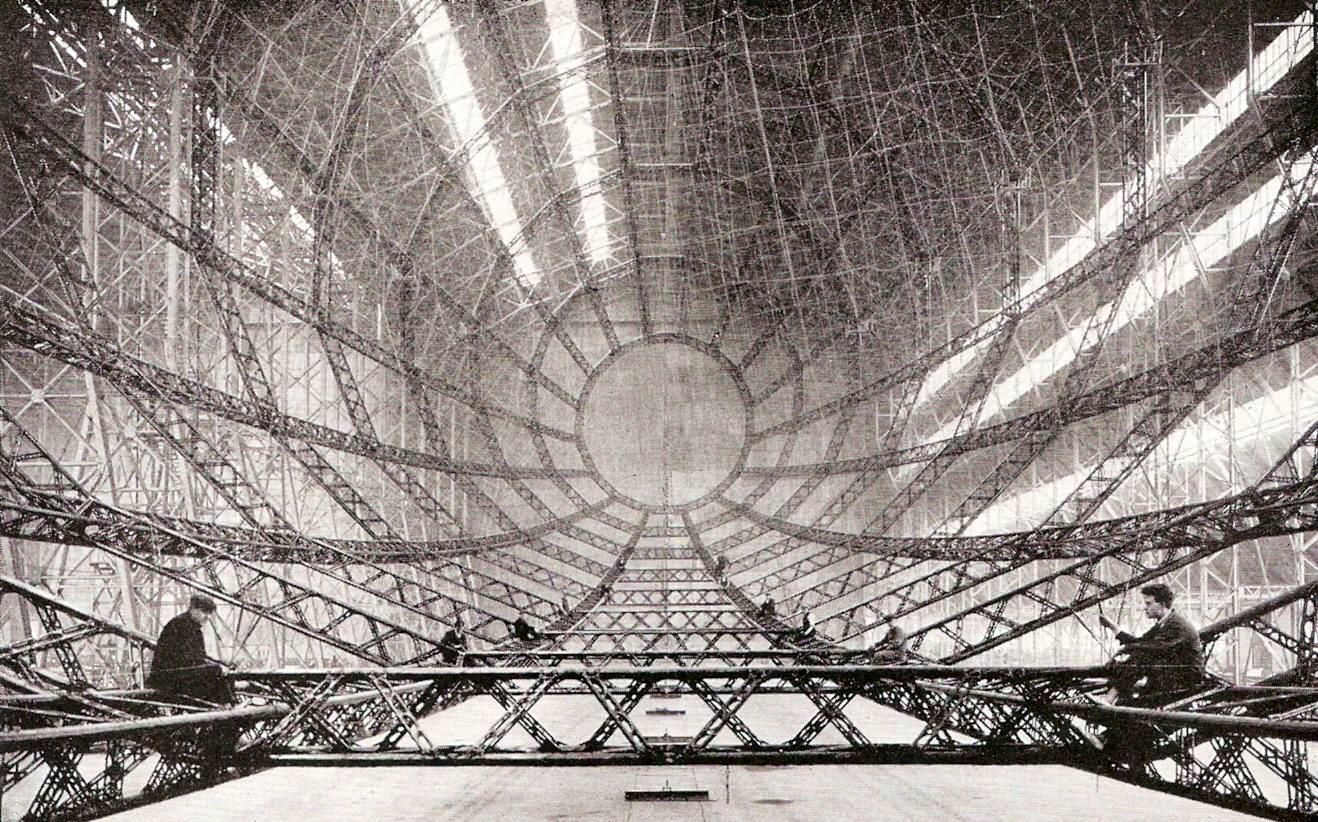 Airship Architecture   Architecture, Zeppelin and Historical photos