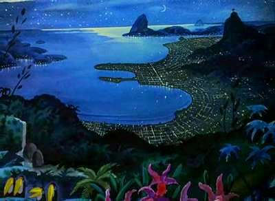 Saludos Amigos Aquarela Do Brasil Disney Concept Art Animation