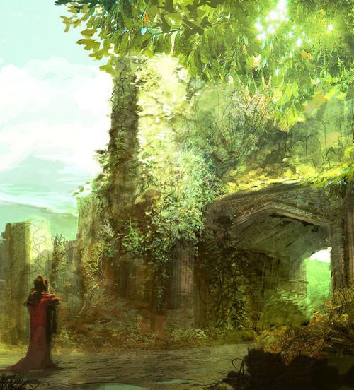 A Meeting at the Green Gate by AntiFan-Real