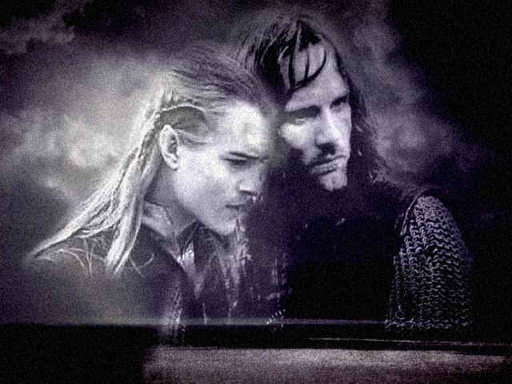 Legolas And Aragorn With Images Legolas And Aragorn Legolas
