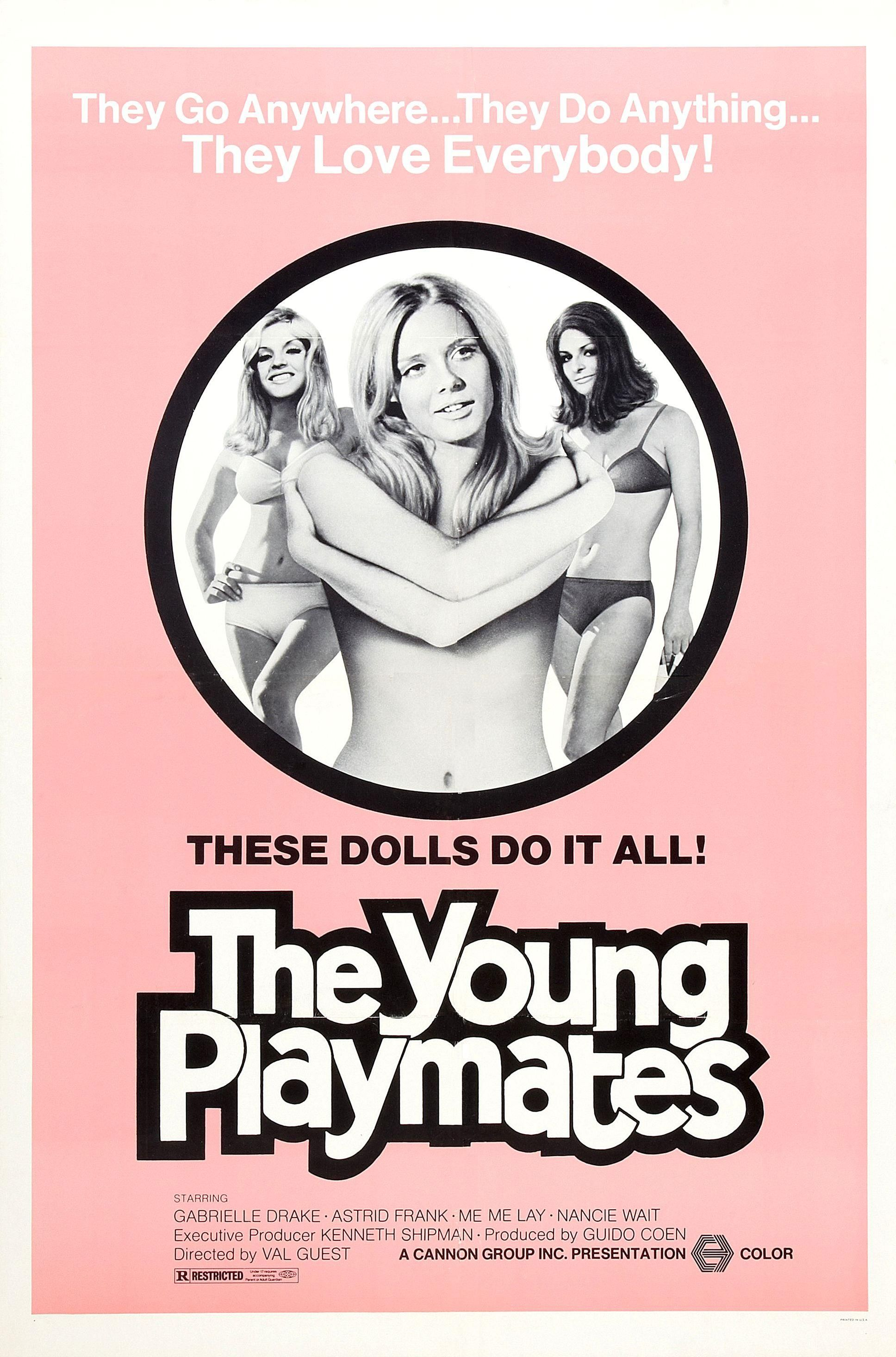 The Young Playmates Aka Au Pair Girls 1972 With Images