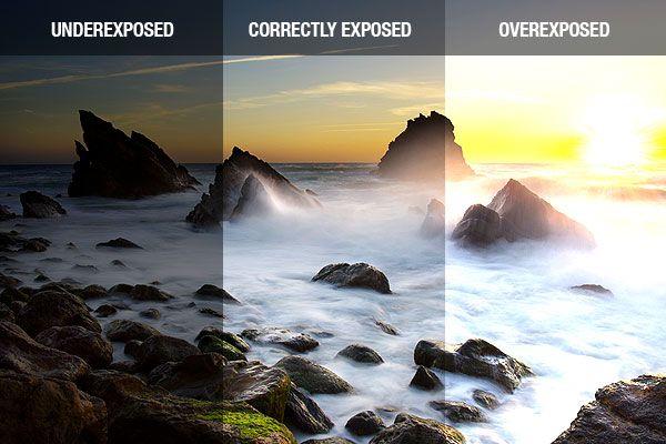 Exposure Comparison Overexposure To Underexposure Beach Photography Beach Photography Tips Summer Photography