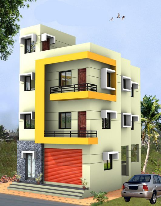 Design Small House With A 3 Storey Building Home Building Design House Plans Australia House Plans