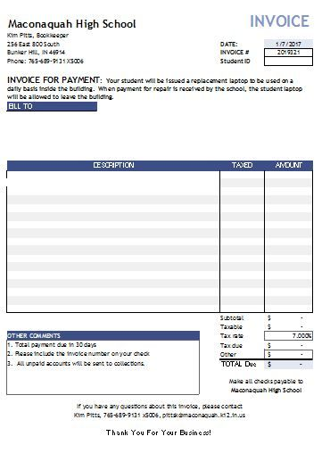 invoice template excel , 13 Invoice Template for Easier Use , Free - make an invoice online