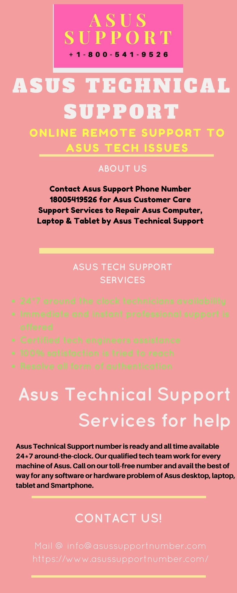 Contact asus customer support
