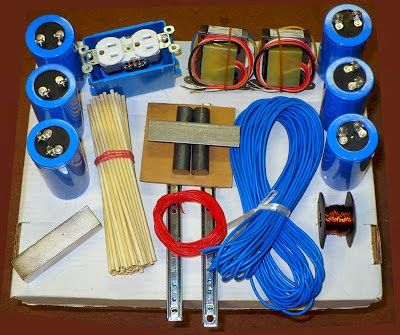 "Lester Hendershot Electromagnetic Generator ""DIY"" Kit: Lester Hendershot Generator ""Do It Yourself"" Kit"