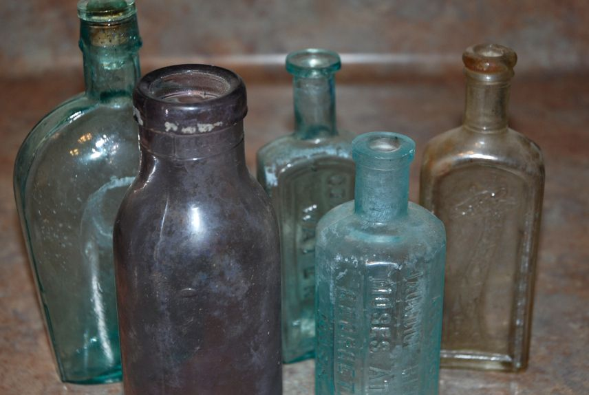 Wonderful Old Glass Bottles Part - 3: I Picked Up A Lot Of Really Cool Old Glass Bottles At Auction A Few Months