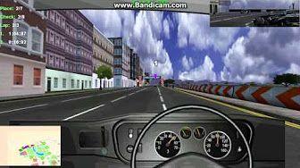 midtown madness 2 crash course (05) London Cab 懷舊遊戲 倫敦 - YouTube
