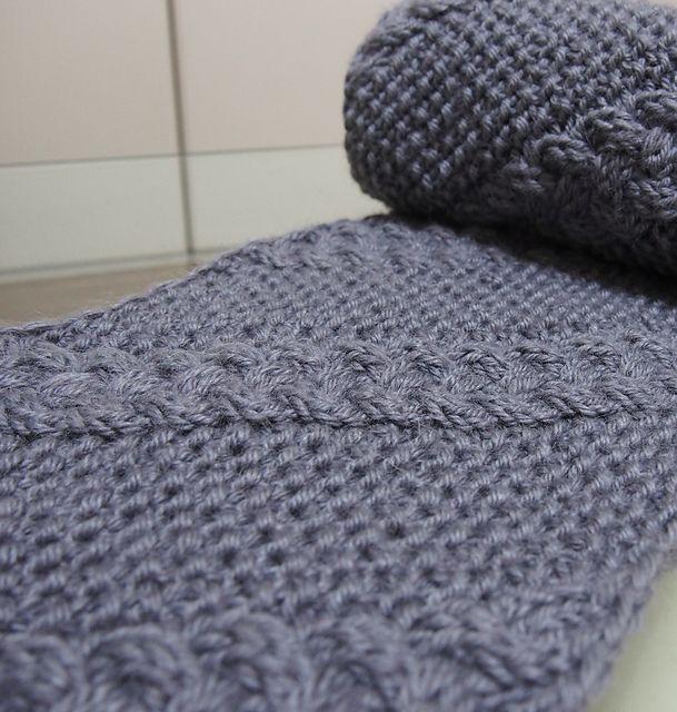Ravelry: Diagonal Snood pattern by Asami Kawa #knit #free ...