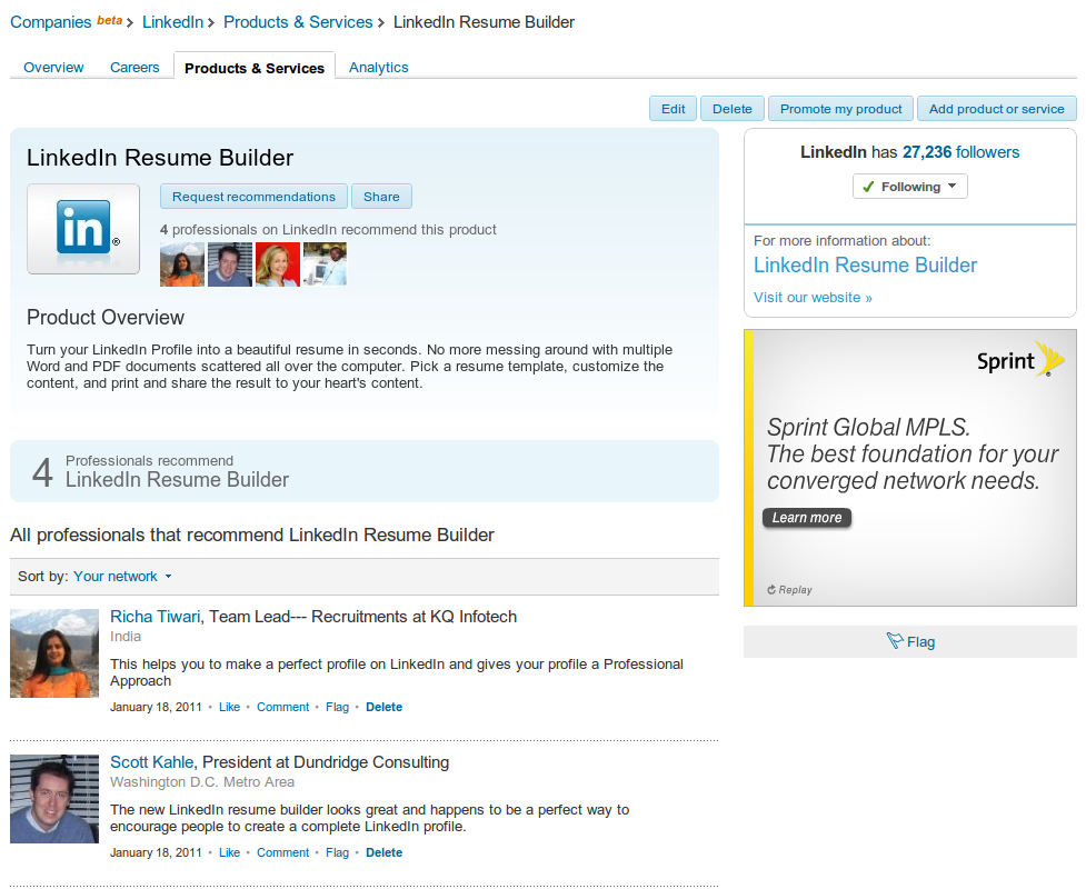 Gentil Turn Your LinkedIn Profile Into A Resume | Resume Builder