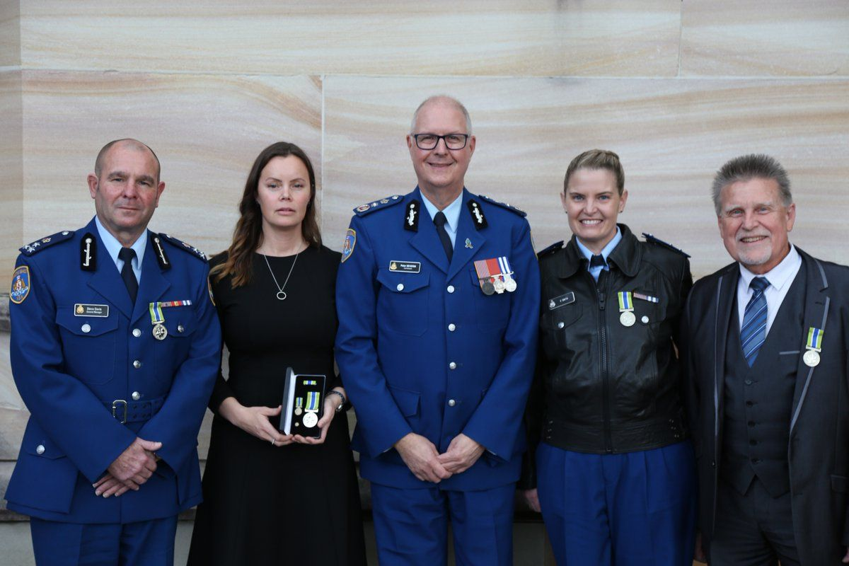 Four Corrective Services Officers Have Received Australian