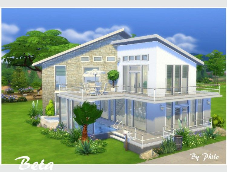 Download Residenziali Il Catalogo Di The Sims 4 Sims Building Sims House Sims 4 House Design