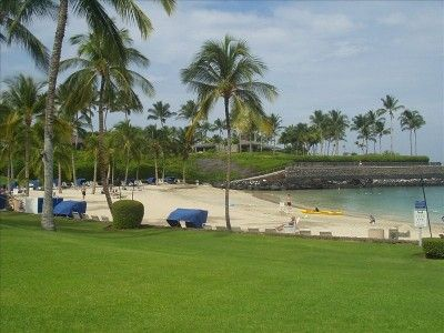 Beach Club Mauna Lani Resort Our Favorite Place To Take The Kids Swimming On