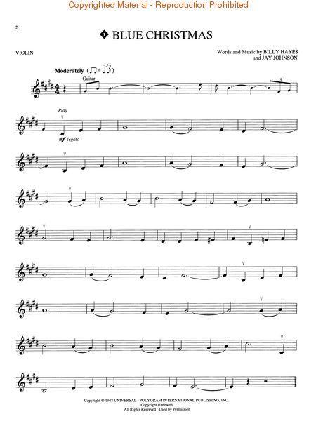 Christmas Favorites Sheet Music For Strings By Various At Sheet ...