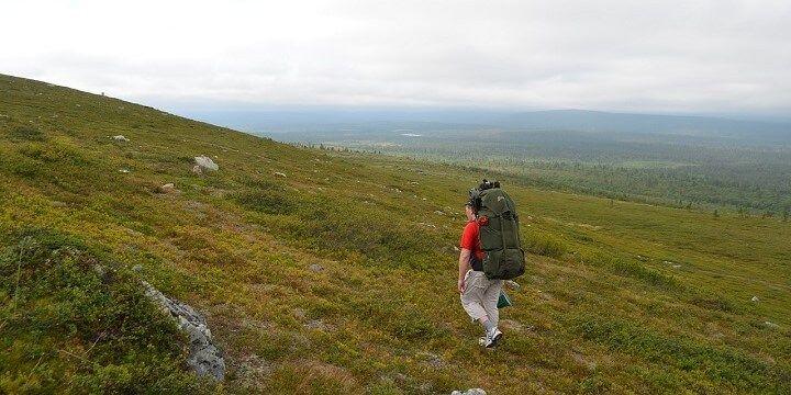Hetta to Pallastunturi Hike, Lapland, Finland