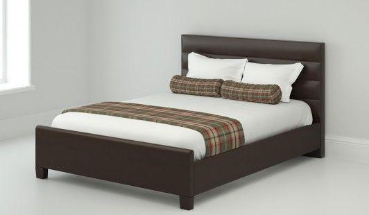 150cm Bedstead Medici Leather Bed Frame Leather Bed Bed Frame