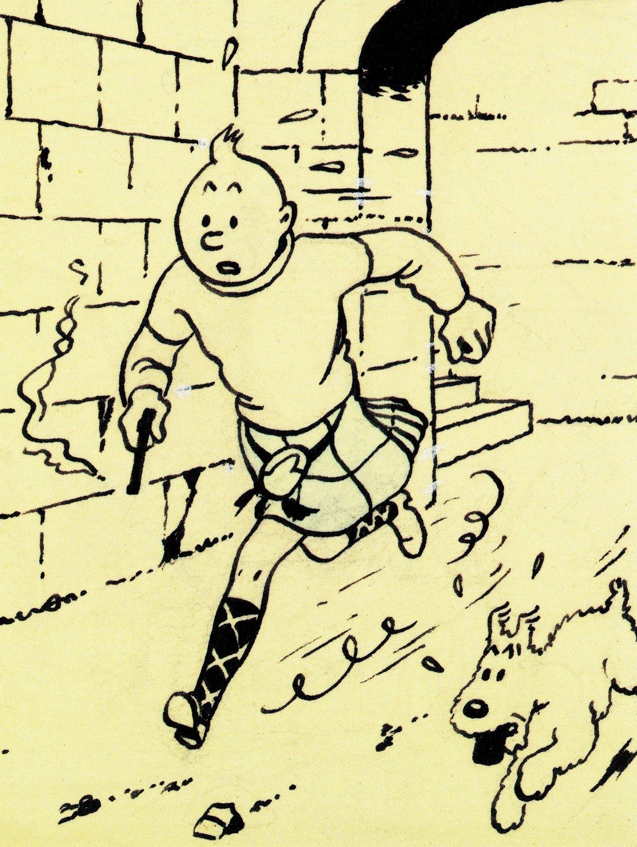 Toronto Draws Tintin Art About The Adventures Of Tintin Photo