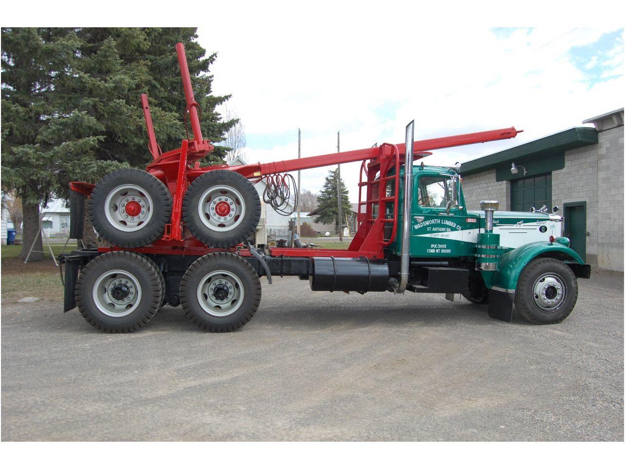 logging+trucks | MACK LT Logging Truck - Double Edge Equipment LLC ...