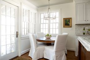 White Dove On Walls And Trim In Diffe Sheens Eggshell Semi Gloss By Kristie The Decorologist Fav Paint