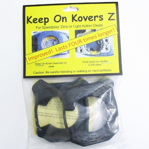 Bike Cleat Covers - Keep On Kovers Z for Speedplay Zero or Light Action Cleats Cover  Long Lasting ** Click on the image for additional details.