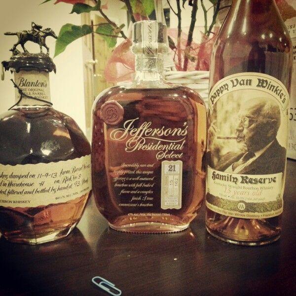 #pappyvanwinkle #Jeffersons #Blantons #whiskey #whisky #ウイスキー #위스키 #viski #viskis