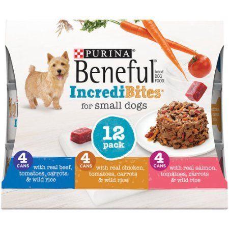 Beneful Incredibites Beef Chicken Salmon Variety Pack Wet Dog Food