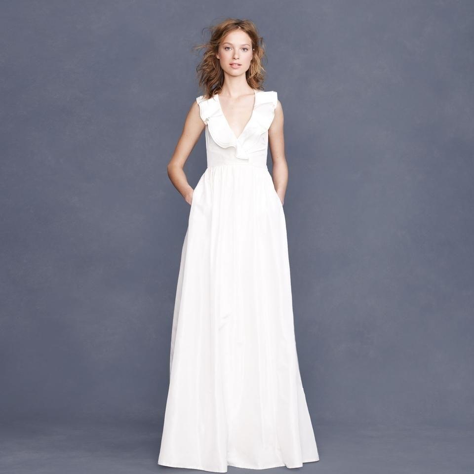 Silk Taffeta Wedding Gowns: Ivory Silk Taffeta Kira Modern Wedding Dress