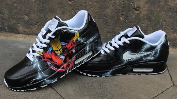 clearance nike air max limited edition custom painted 3f8ee