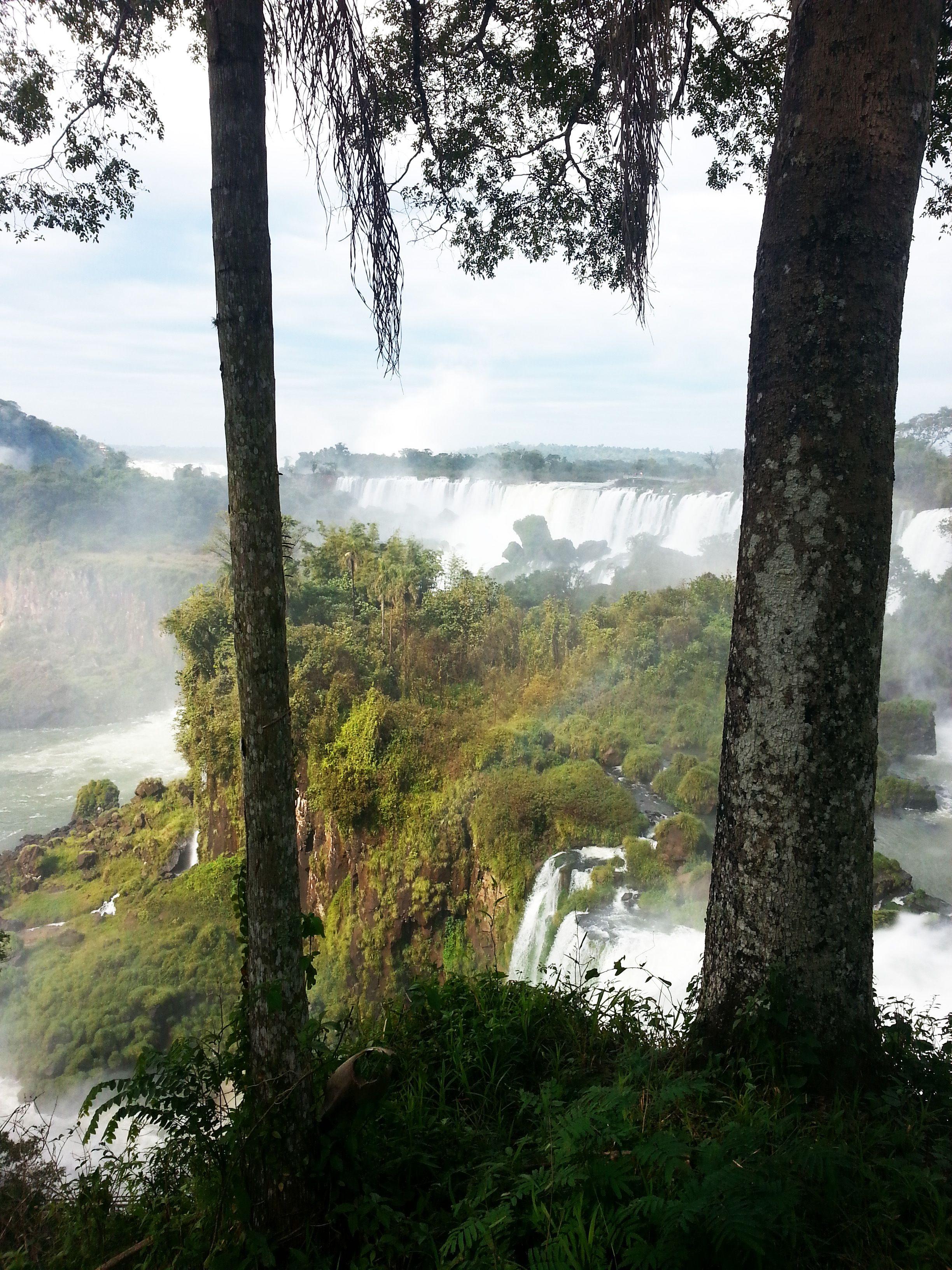 Chutes d'Iguazu, Argentine  #argentine #iguazu #cataratas #arcenciel #unesco #chutes #iguazufalls