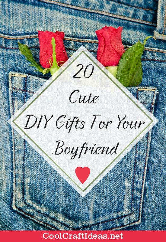 20 Cute Diy Gifts For Your Boyfriend Do It Yourself