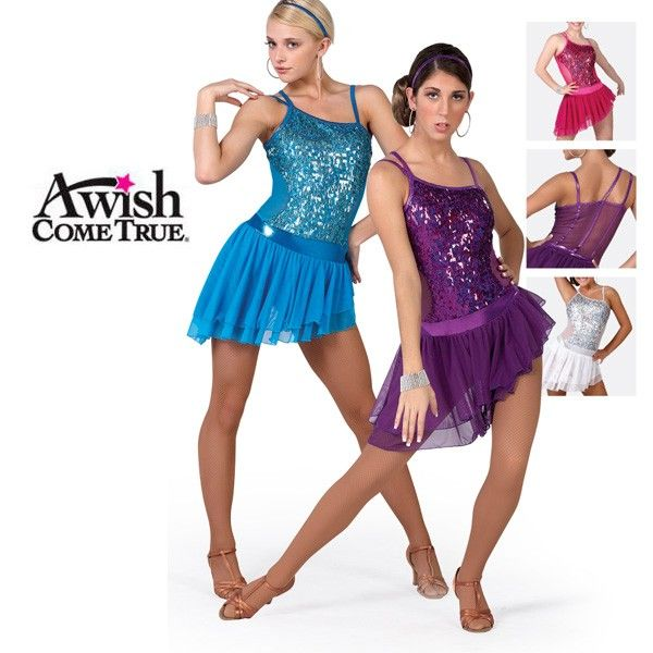 A Wish Come True Latin Competition 2012-13: Papi Adults Latin Dance Costume