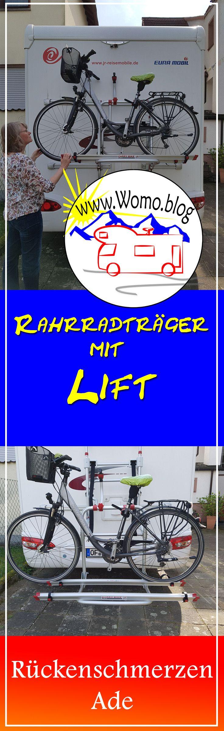 Fahrradtrager Mit Lift Nicht Nur Furs Alter Ideal Fiamma Carry Bike Lift 77 Ruckenschmerzen Ade Fahrrad Fahrradtrager Campingideen