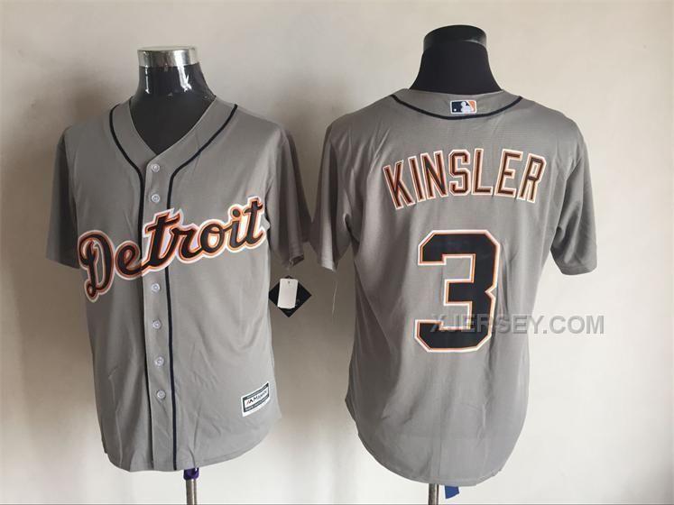 http://www.xjersey.com/tigers-3-ian-kinsler-grey-new-cool-base-jersey.html Only$35.00 TIGERS 3 IAN KINSLER GREY NEW COOL BASE JERSEY Free Shipping!