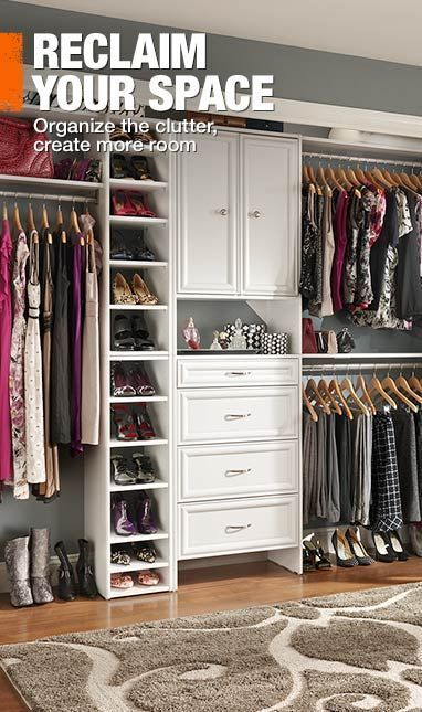 Home Depot Closet Organizer | Create Storage Space Like A Pro