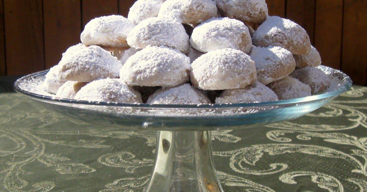 Cinnamon Anise Mexican Wedding Cookies Mexican wedding