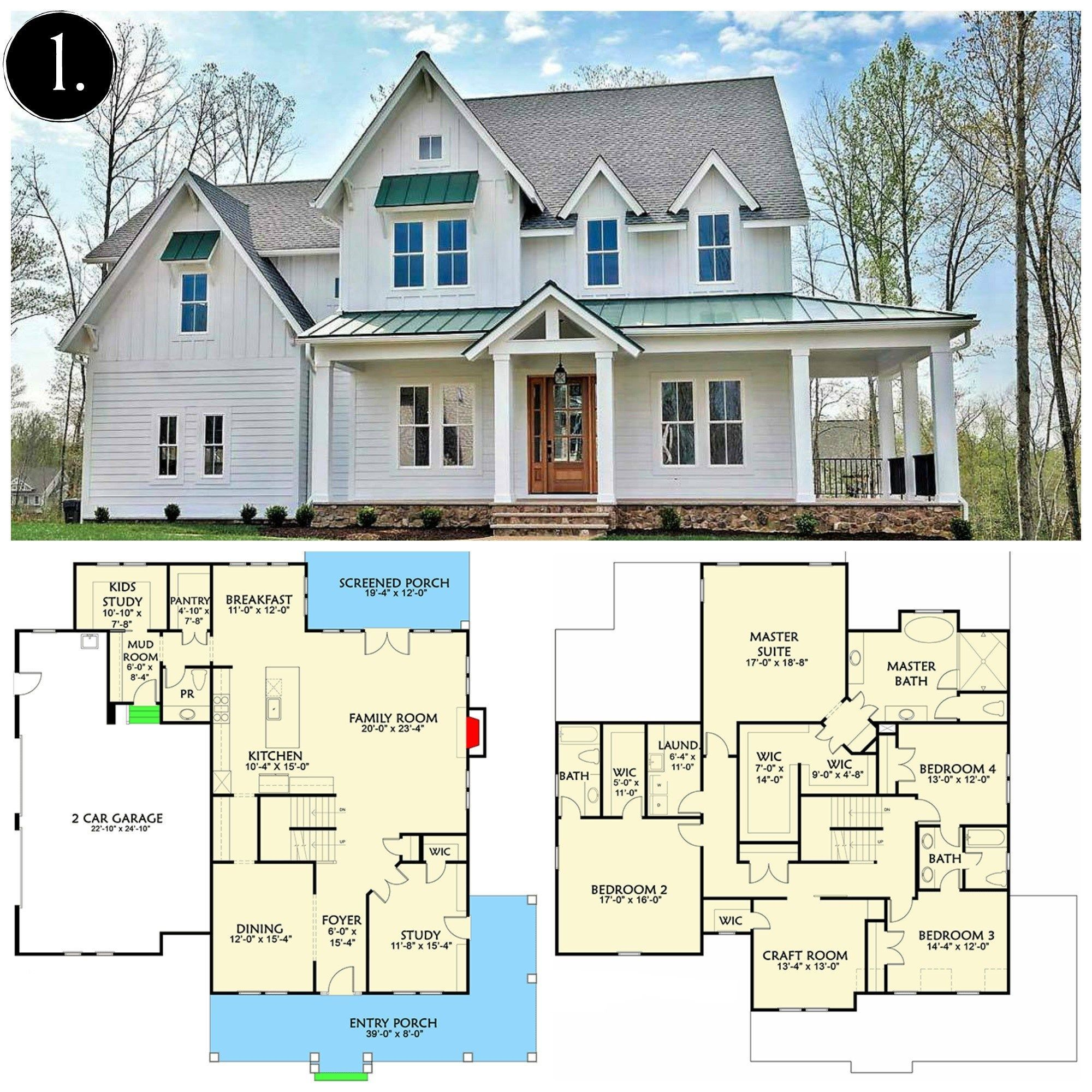 How To 10 Modern Farmhouse Floor Plans I Love Rooms For Rent Blog Farm House Plan How T Farmhouse Floor Plans Modern Farmhouse Plans Modern Farmhouse Floorplan
