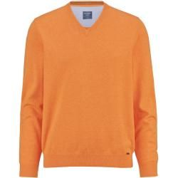 Photo of Olymp Strick Pullover, modern fit, Hellorange, L Olympolymp