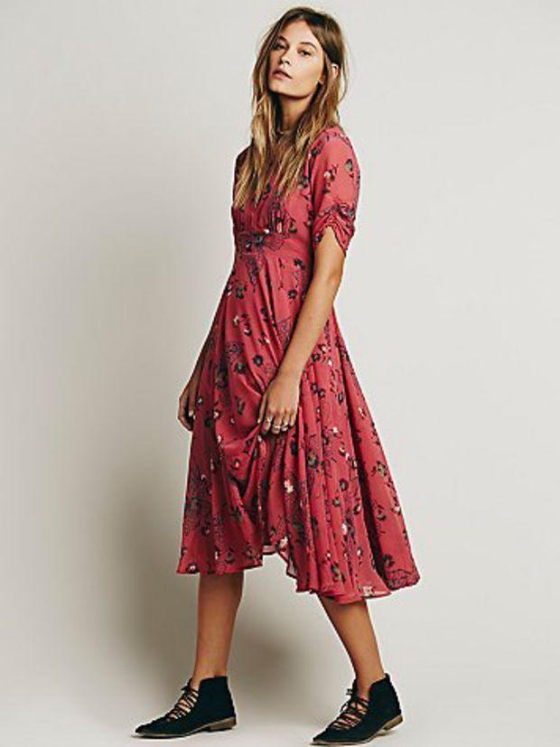 Free People Womens Bonnie Dress