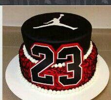 Groovy Jordan Cake Jordan Cake Michael Jordan Cake 23 Birthday Cake Funny Birthday Cards Online Elaedamsfinfo