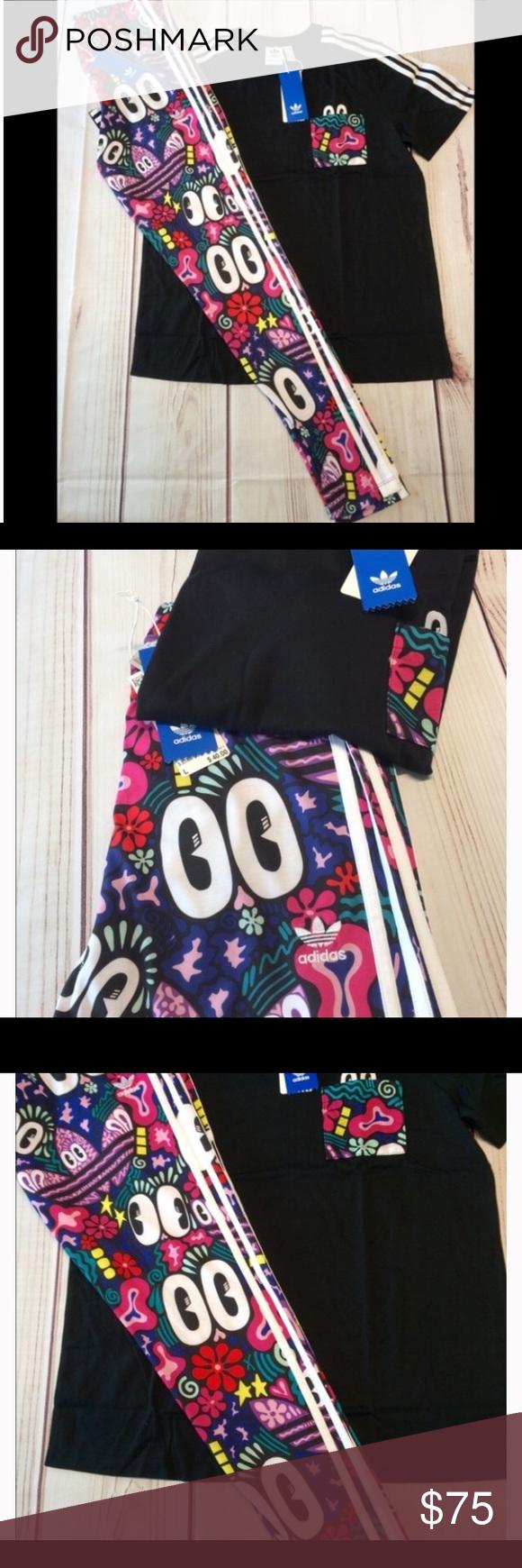 adidas Originals 3 Stripe Leggings Boutiques And Brands