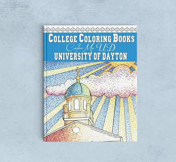 University Of Dayton Color Me UD Adult Coloring Book