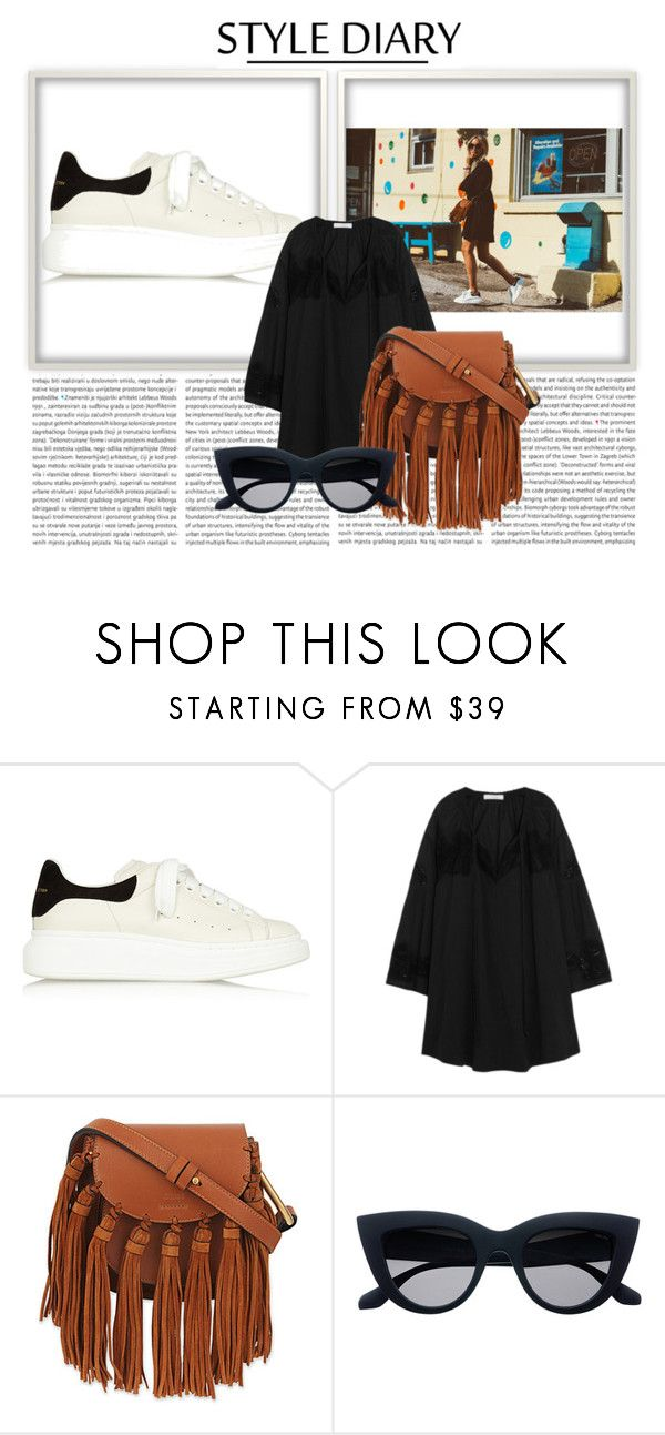 """StyleDiary."" by xxbebeautifulxx on Polyvore featuring Mode, Alexander McQueen, IRO und Chloé"