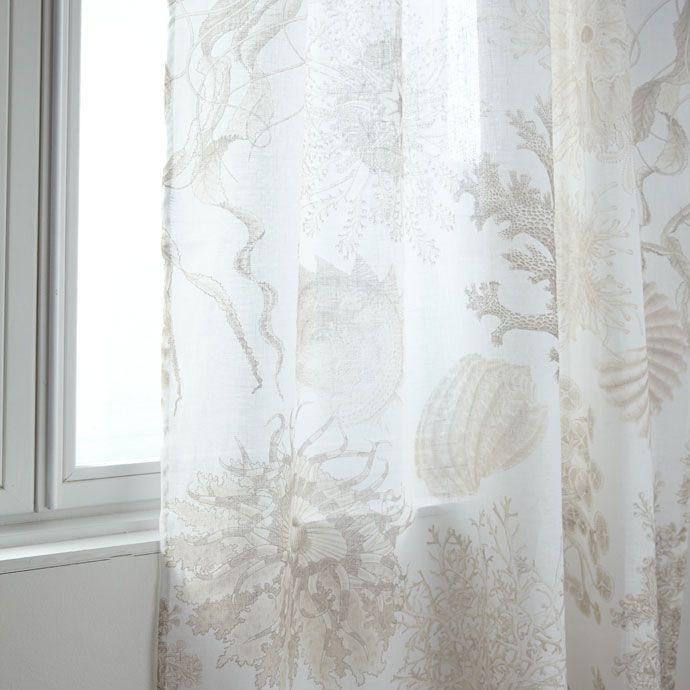 Jellyfish Printed Curtain
