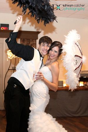 Second Line. Guests/bridal party can do this to the reception!